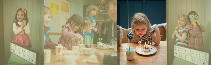 kinderverjaardag feest