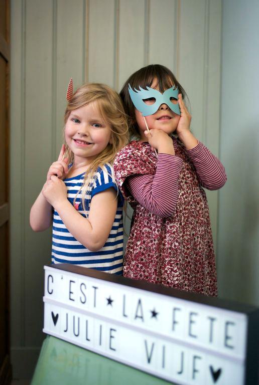 Le PhotoBooth voor kinderfeest