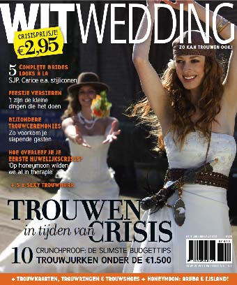 Cyrille Maratray in tijdschrift WitWedding
